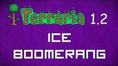Ice Boomerang - Terraria 1