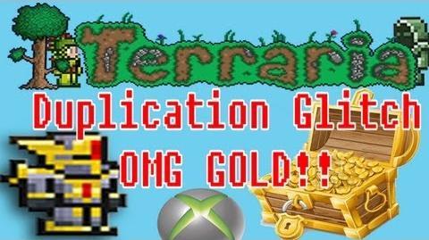 Terraria XBOX 360 Edition Duplication Glitch Original OMG!!!!