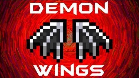 Demon Wings Terraria HERO