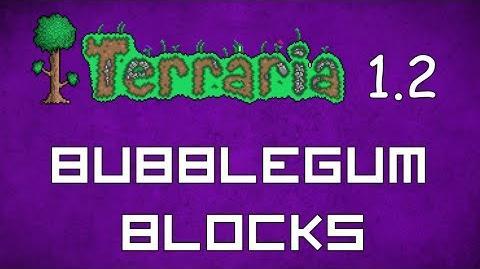 Bubblegum Block - Terraria 1