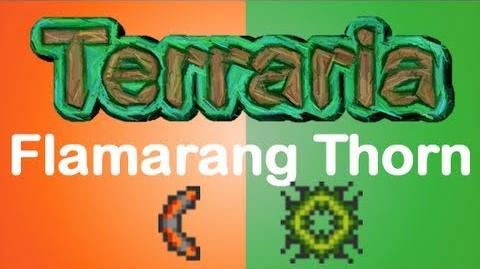 Terraria - Flamarang Thorn Chakrum