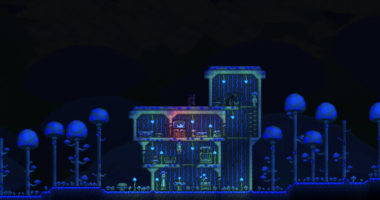 Some mushroom house on mushrooms well not so much