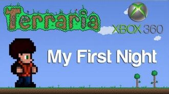 Terraria Xbox - My First Night 1