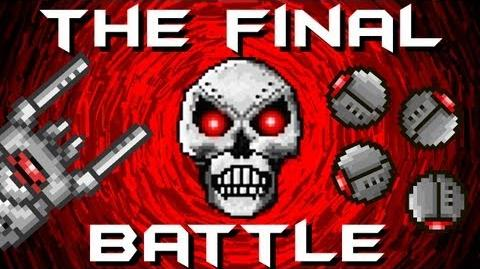 Terraria - The Final Battle Skeletron Prime Dungeon Guardian Prime The Destroyer The Twins