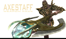Axestaff Weapon Pack - Title