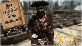 Seadog Pirate Armor - Title