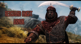 Redguard Knight Armor - Title