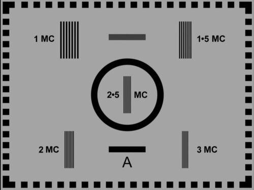 BBC Test Card A