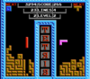 Tetris NES Tengen gameplay