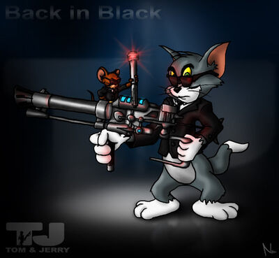 Tom and jerry are mib by natal ee a-d2wnila
