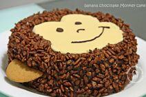 Monkey bday cake 2