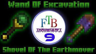 Wand Of Excavation Shovel Of The Earthmover Thaumcraft 3 FTB LITE Tutorial 9-0