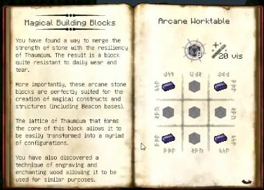 Arcane stone