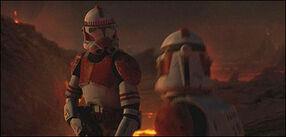 Republic shock trooper