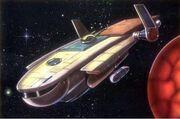 Smuggler ship
