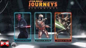 Star Wars Journeys Beginnings - Revenge of the Sith - iOS - iPhone iPad iPod Touch Gameplay