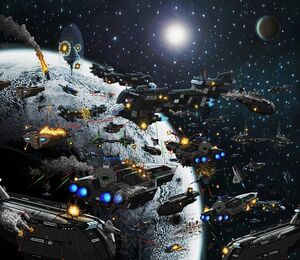Space Battle Mandos