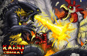 Kaiju combat battle promo by kaijusamurai-d5klv6s
