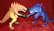TRENDMASTERS Ultimate Godzilla Prototypes x 2
