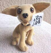 Yo Quiero Taco Bell Chihuahua Dog Plush Here Lizard.. Godzilla 1998 +a Keychain5