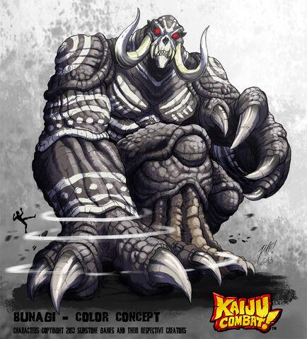 File:Kaiju combat bunagi by kaijusamurai-d602wia.jpg