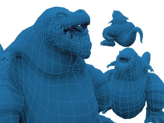 File:Macrossaurus 3d model.jpg