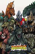 Godzilla Rulers of Earth issue 8 cover ©2013 KaijuSamurai