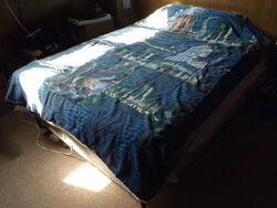 Vintage 1998 Godzilla Twin Comforter & 2 Pillow Cases