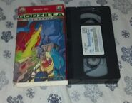 Godzilla The Series Vol 2 Monster War VHS