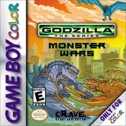 Godzilla the series monster wars