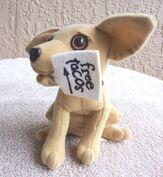 Yo Quiero Taco Bell Chihuahua Dog Plush Here Lizard.. Godzilla 1998 +a Keychain4