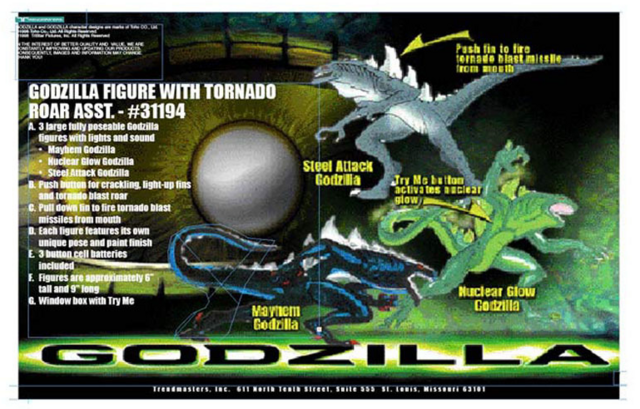 File:Trendmasters Animated Godzilla The Series Unreleased Collection of Figures and Prototypes and Collectibles56...png