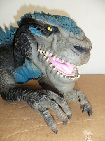 File:Godzilla hand operated head bust.jpg