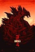 Godzilla (Variant) by Phantom City Creative