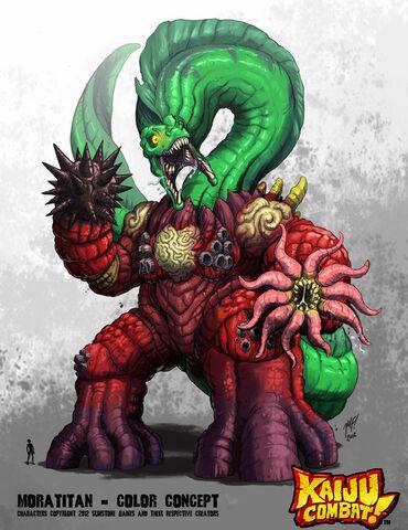 File:Kaiju combat moratitan by kaijusamurai-d5mq7yh.jpg