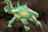 TRENDMASTERS Nuclear Glow Godzilla Unreleased RESIN Prototype From The Supposed 2nd Series of Godzilla 1998 Toys