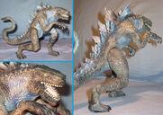 TRENDMASTERS Combat Claw Godzilla Showroom Paint Master Plastic Prototype