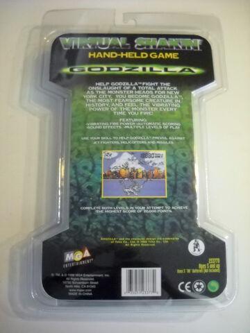 File:MGA GODZILLA VIRTUAL SHAKIN' Hand-Held LCD game MOSC NEW 1998 movie version1.JPG
