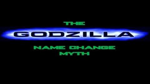 The American Godzilla Name Change Myth