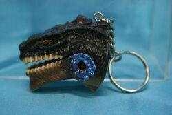 Godzilla keychain