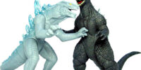 Godzilla: Final Wars Mini Battle Set 5 - Godzilla vs. Zilla