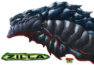 Zilla 02 by NickDraw
