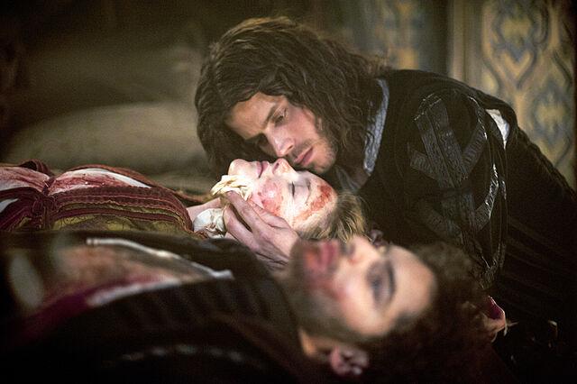 File:011 The Prince episode still of Lucrezia Borgia and Cesare Borgia.jpg