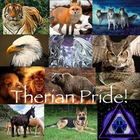 Therians- Be proud by moonrays138
