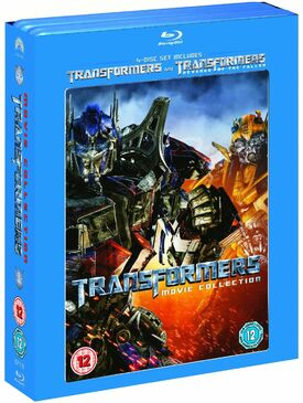 Transformers 1 and 2 Blu-ray