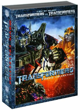Transformers 1 and 2 DVD