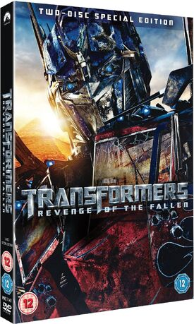 Transformers revenge of the fallen 2 disc special edition