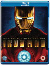Iron man blu-ray ultimate 2 disc edition uk