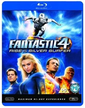 Fantastic 4 rise of the silver surfer blu-ray