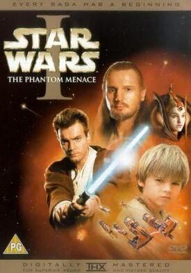 Star Wars Episode I The Phantom Menace DVD